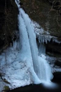 秩父大滝 竜門の滝 氷瀑