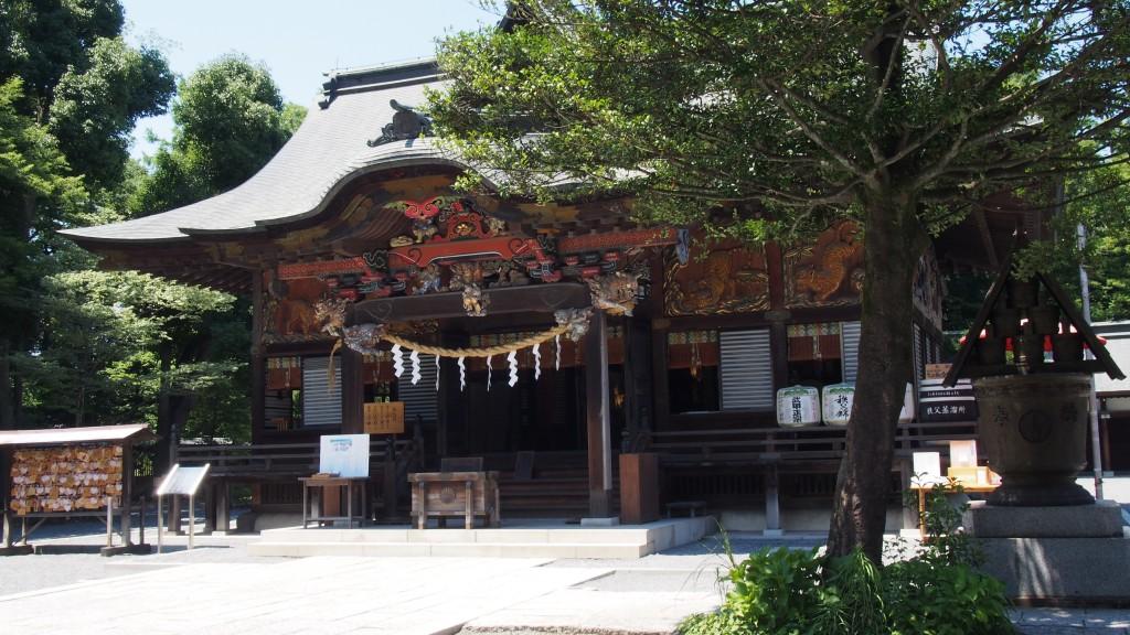 夏の秩父神社