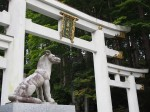 三峰神社の狛犬