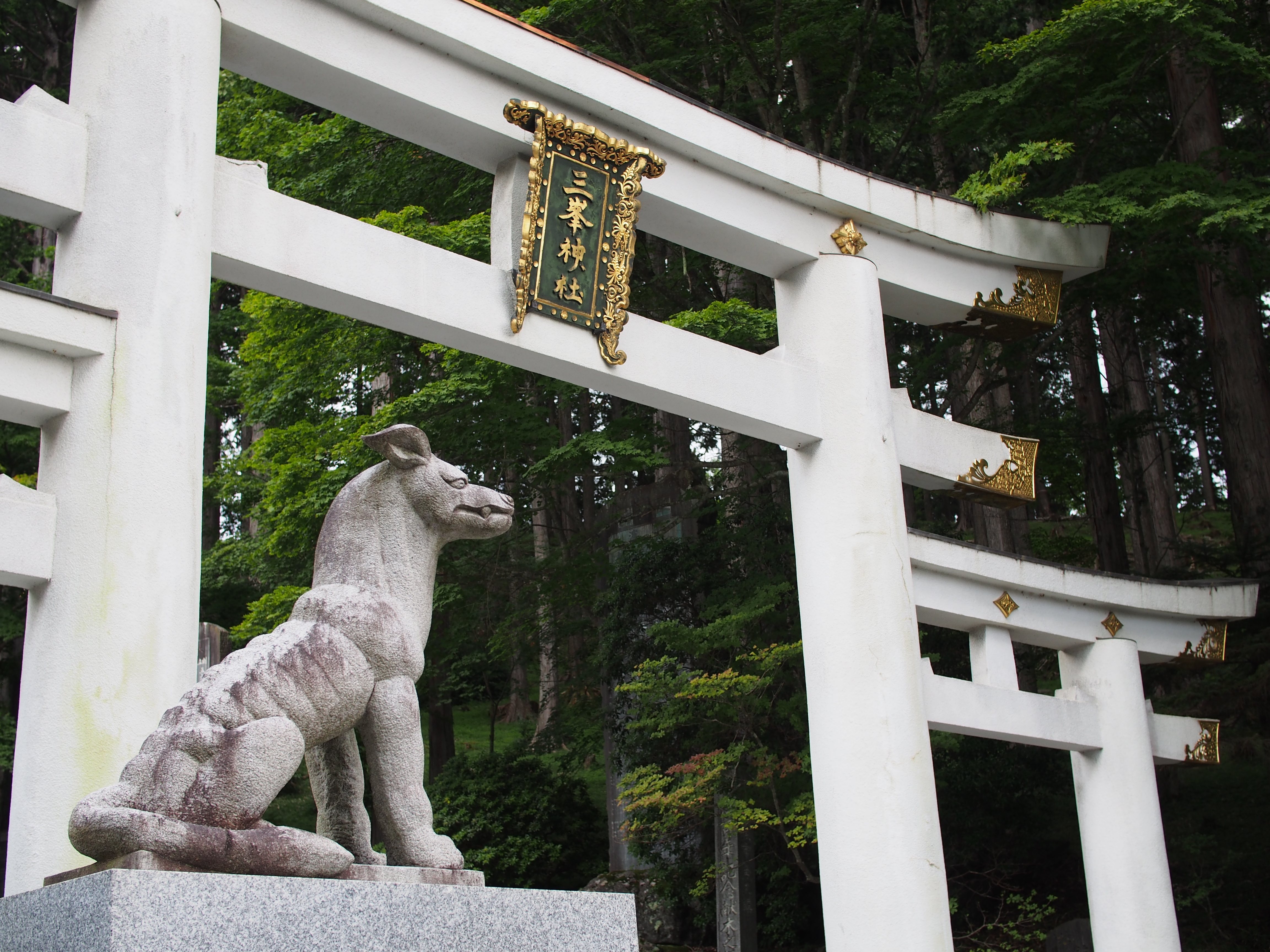 関東一のパワースポット 三峰神社