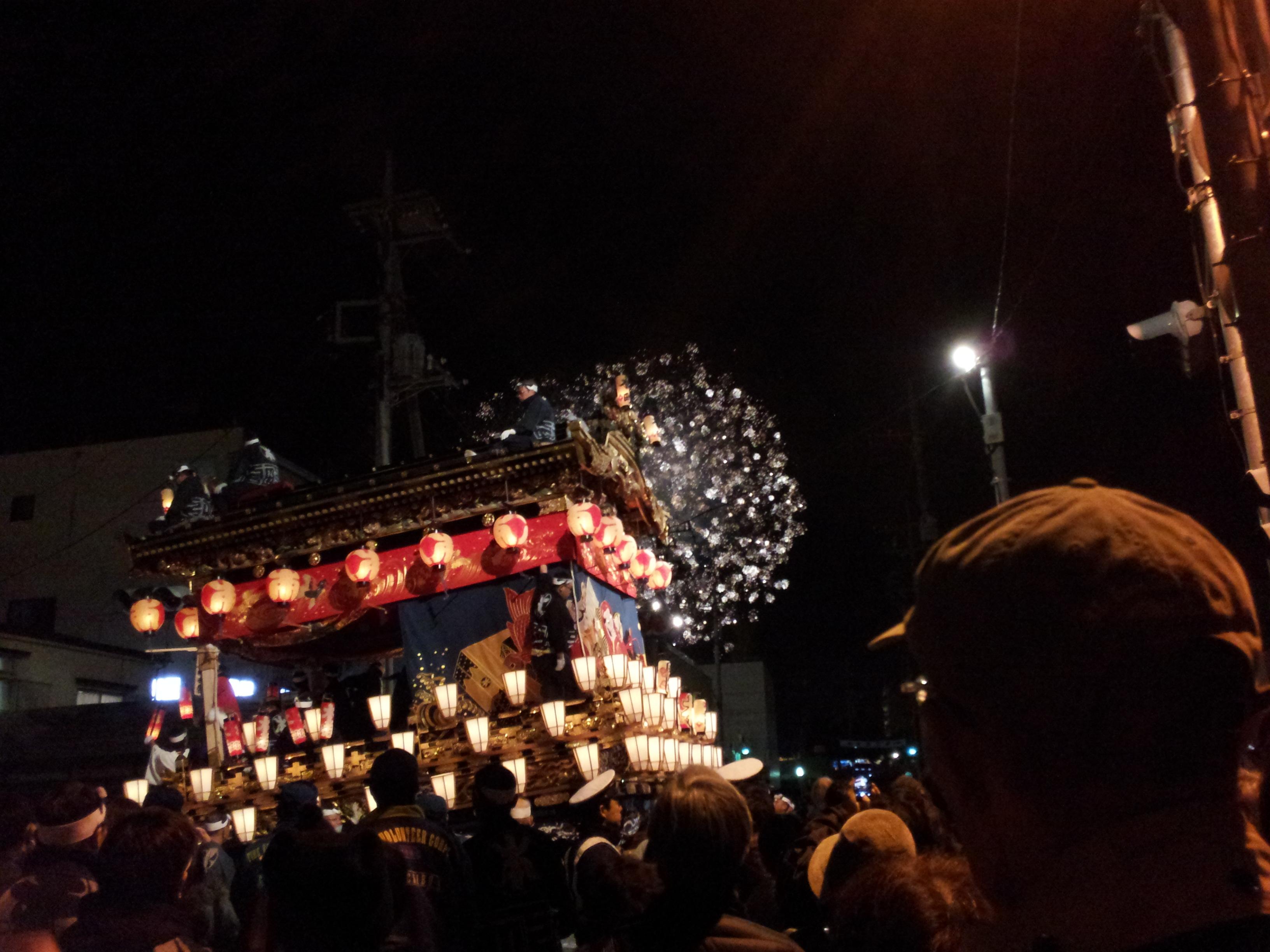 秩父夜祭の見どころとスケジュール2016
