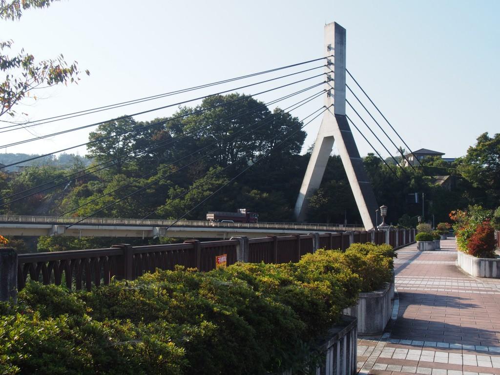 旧秩父橋 あの花の聖地巡礼スポット