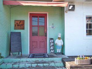 ナージュ-入り口のドア