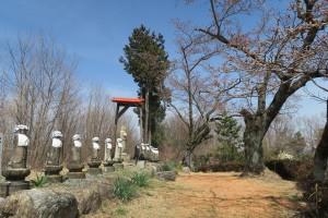 音楽寺の十三地蔵