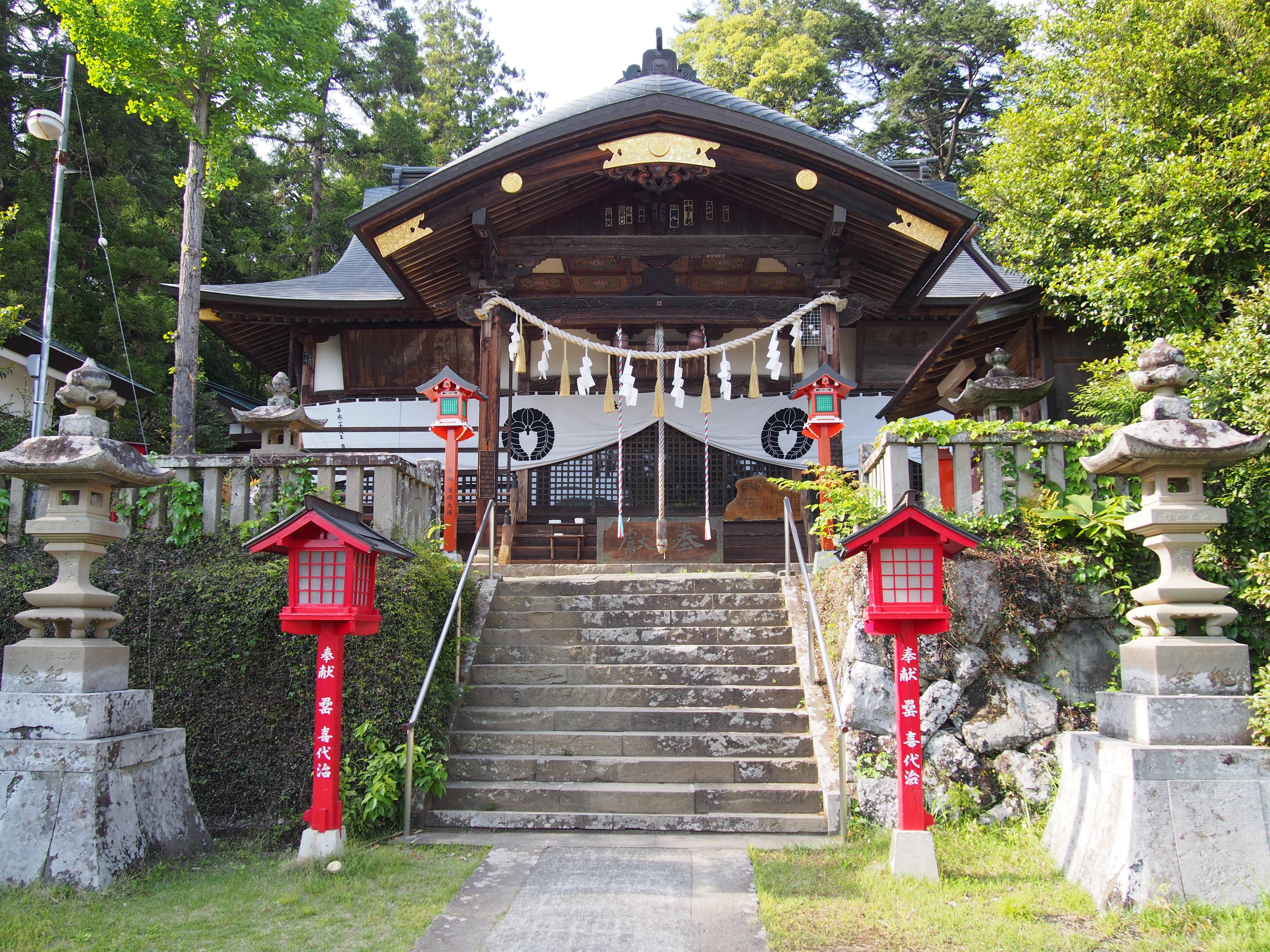 日本武尊伝説も あなたが知らない小鹿神社のアレコレ