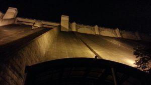浦山ダムライトアップ