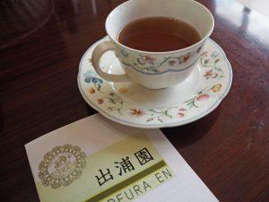 出浦園の紅茶