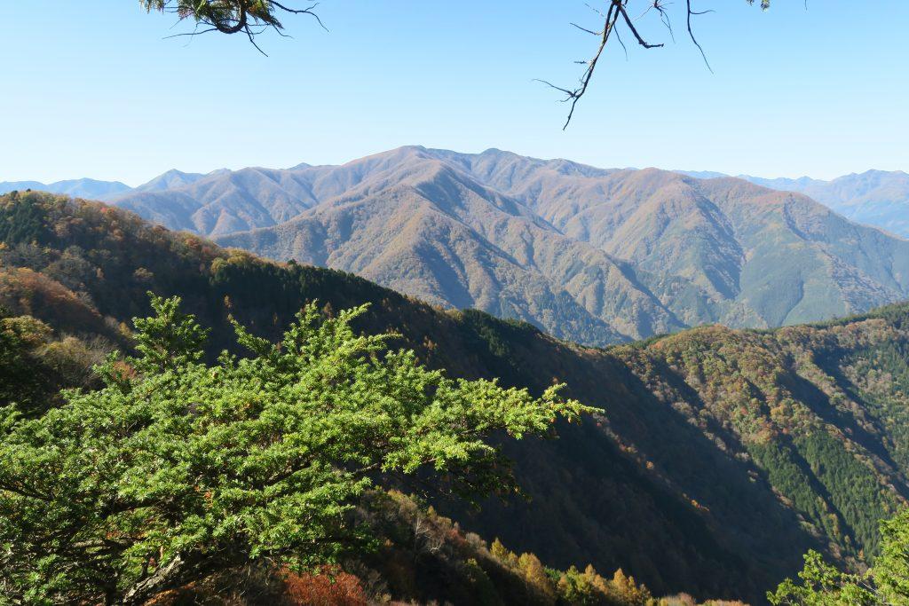美しい秩父の山