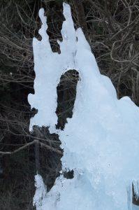 尾ノ内百景氷柱つららアップ