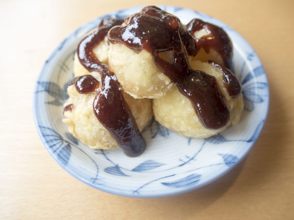 龍勢茶屋の味噌ポテト
