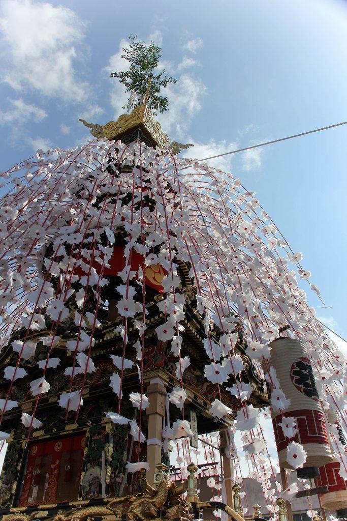 秩父夜祭の中近笠鉾 ユネスコ無形文化遺産