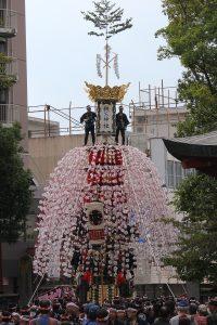 秩父夜祭の中近笠鉾 特別公開 ユネスコ無形文化遺産