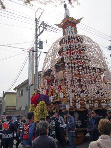 小鹿野春祭り 屋台