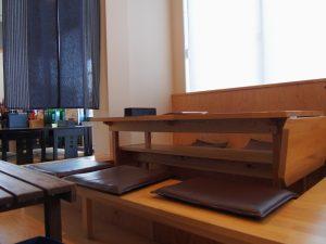 キッチンけん玉の半個室席左側