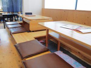 キッチンけん玉の半個室席全体