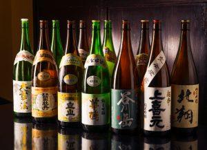 車屋本店にある日本酒の種類
