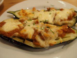 茄子の味噌チーズ焼き