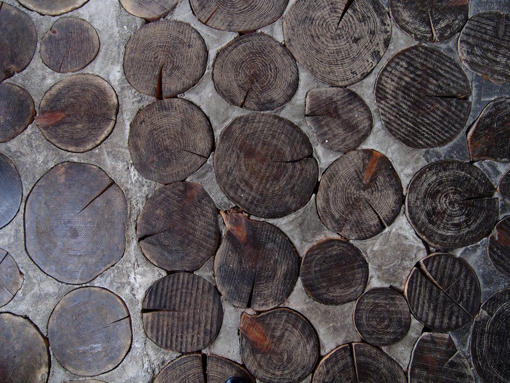 ジェラテリアHANA 店内の床
