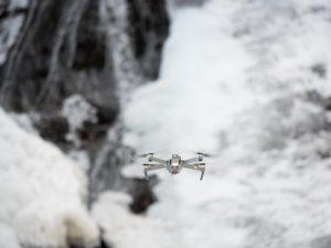 丸神の滝 ドローン撮影