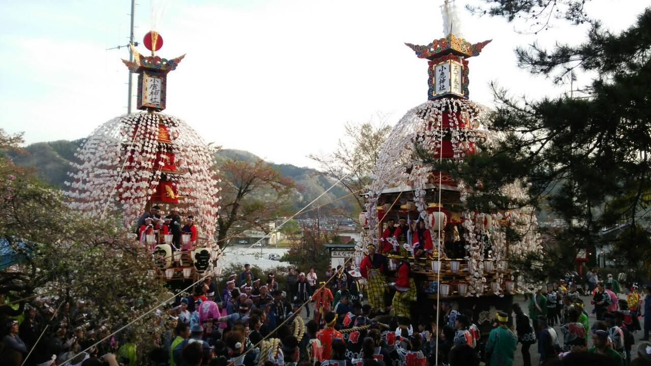 小鹿神社例大祭 小鹿野春まつりの見どころ2018