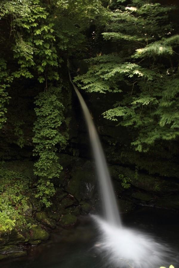 自然のエネルギーを感じるスポット 竜門の滝