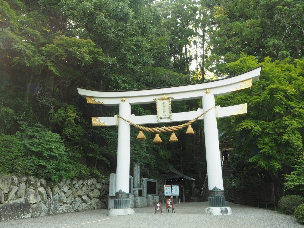 宝登山神社の鳥居 長瀞