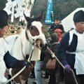 鉄砲まつり 秩父郡小鹿野の奇祭の様子 12月11日撮影