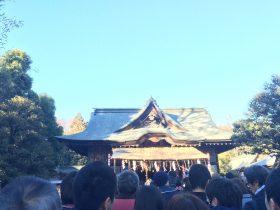 秩父神社の初詣