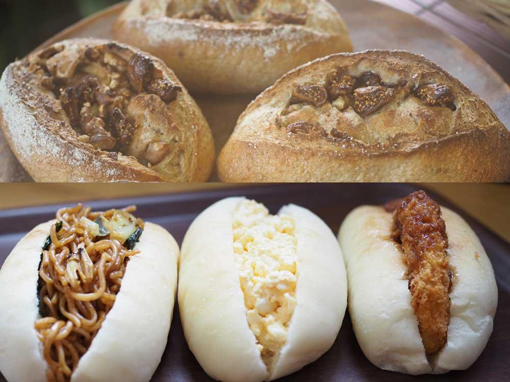 皆野のパン屋COCOのパンたち