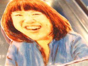 カフェカカリアの手描きプレート 似顔絵