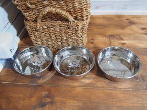 メープルベースの犬用のお皿